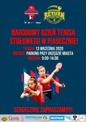 Narodowy Dzień Tenisa Stołowego w Piasecznie