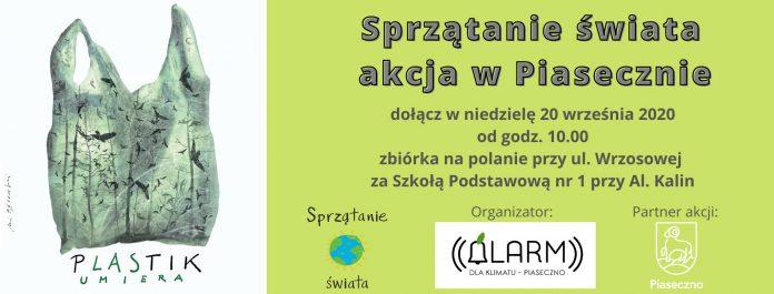 Sprzątanie świata - akcja w Piasecznie