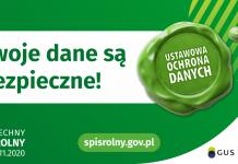 """zielono-biały baner z napisem '""""Twoje dane są bezpieczne!"""""""