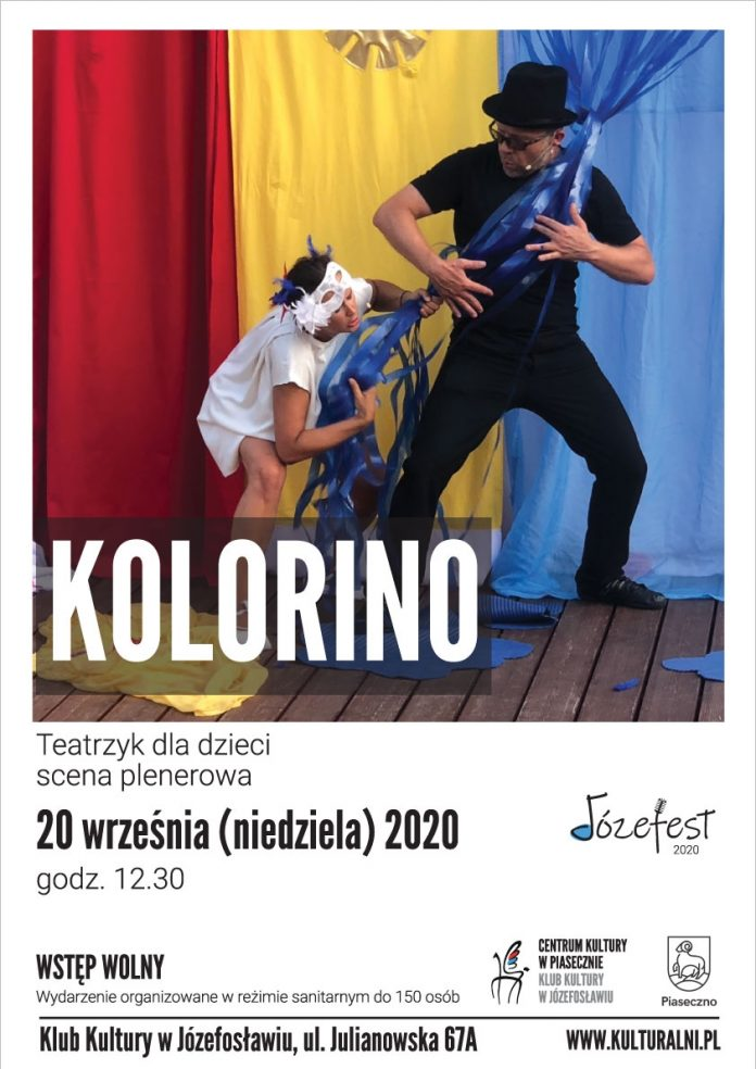 Kolorino teatrzyk dla dzieci - Józefest 2020