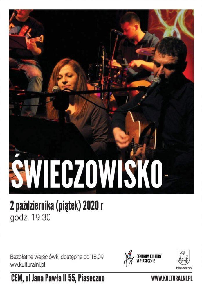 Plakat Świeczowisko w CEM Piaseczno
