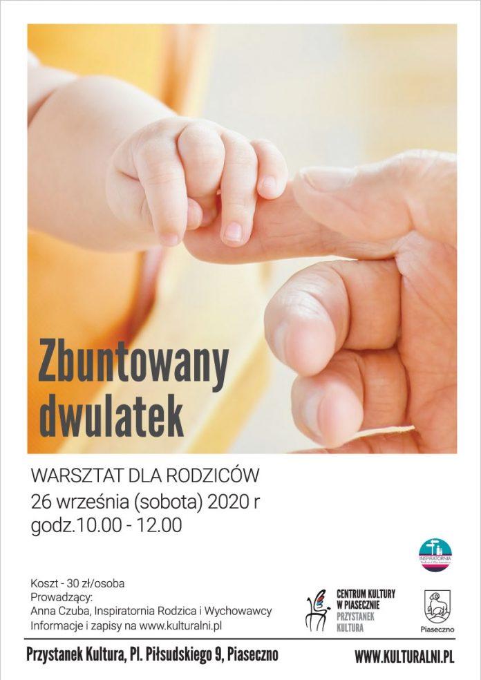 Zbuntowany dwulatek - warsztat dla rodziców w Przystanku Kultura