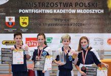 Mistrzostwa Polski Kadetów młodszych i Dzieci w formułach Pointfighting i Light contact w Kickboxingu -Węgrów 2020