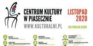 KALENDARIUM WYDARZEŃ CENTRUM KULTURY LISTOPAD 2020