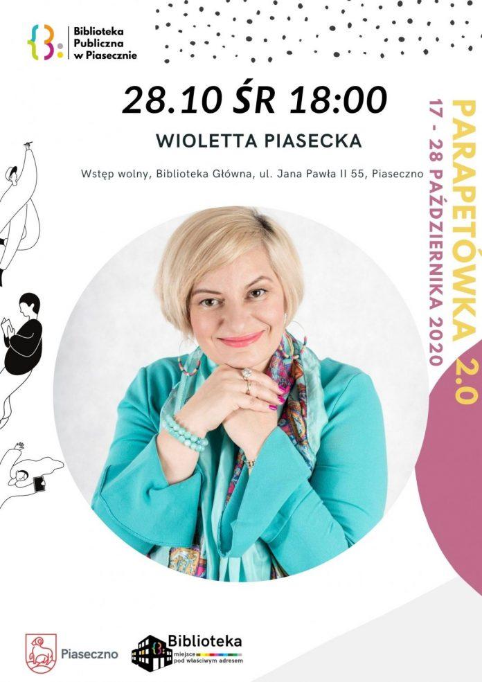 Spotkanie autorskie z Ilustracja. Wiolettą Piasecką w Bibliotece Głównej w Piasecznie