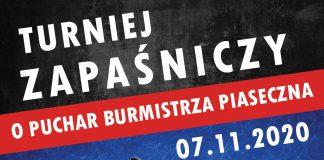 Turniej zapaśniczy o Puchar Burmistrza Piaseczna