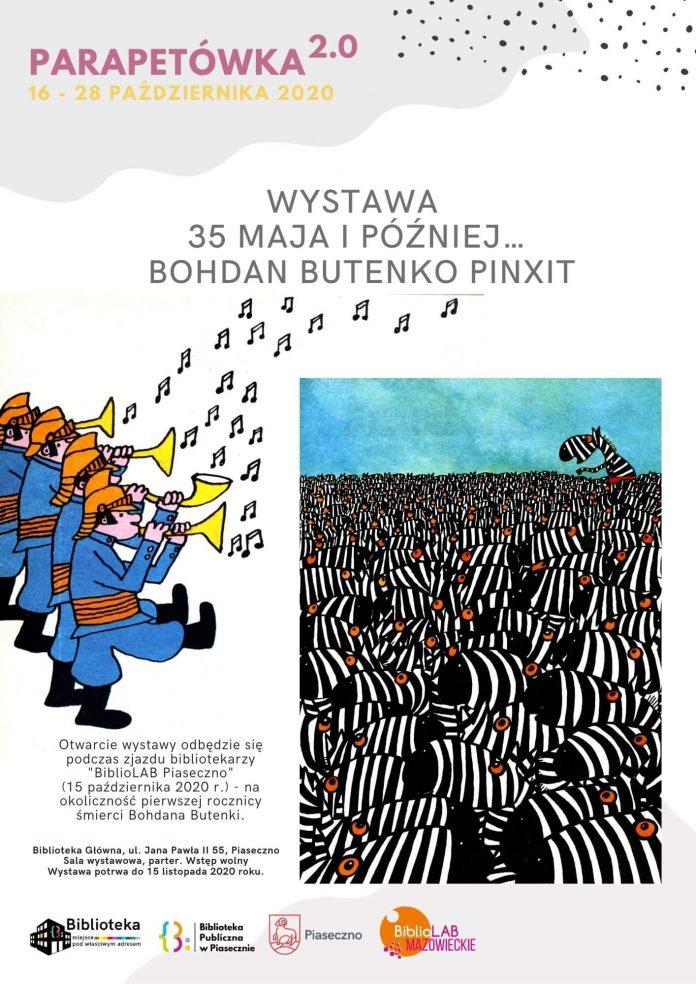 Parapetówka 2.0 – Wystawa ilustracji Bohdana Butenki