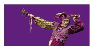 Ilustracja. Plakat wydarzenia Ale teatr! Ale cyrk! warsztaty w Strefie Kultury CEM Piaseczno