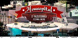 Ilustracja. Housepital Festival 2020 / Edycja Online Live Facebook