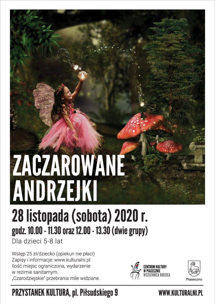 Plakat wydarzenia Zaczarowane Andrzejki - Wszechnica Rodzica