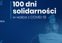 Ilustracja. 100 dni solidarności w walce z COVID-19
