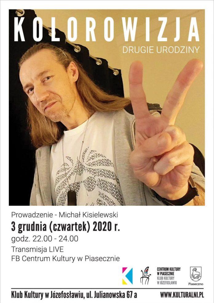 Plakat wydarzenia Kolorowizja - Drugie Urodziny - Scena Józefosław