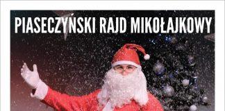 Plakat wydarzenia Piaseczyński Rajd Mikołajkowy