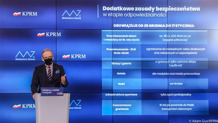 Minister Ministerstwo Zdrowia Adam Niedzielski