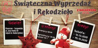 Ilustracja. Świąteczna wyprzedaż i rękodzieło Piaseczno