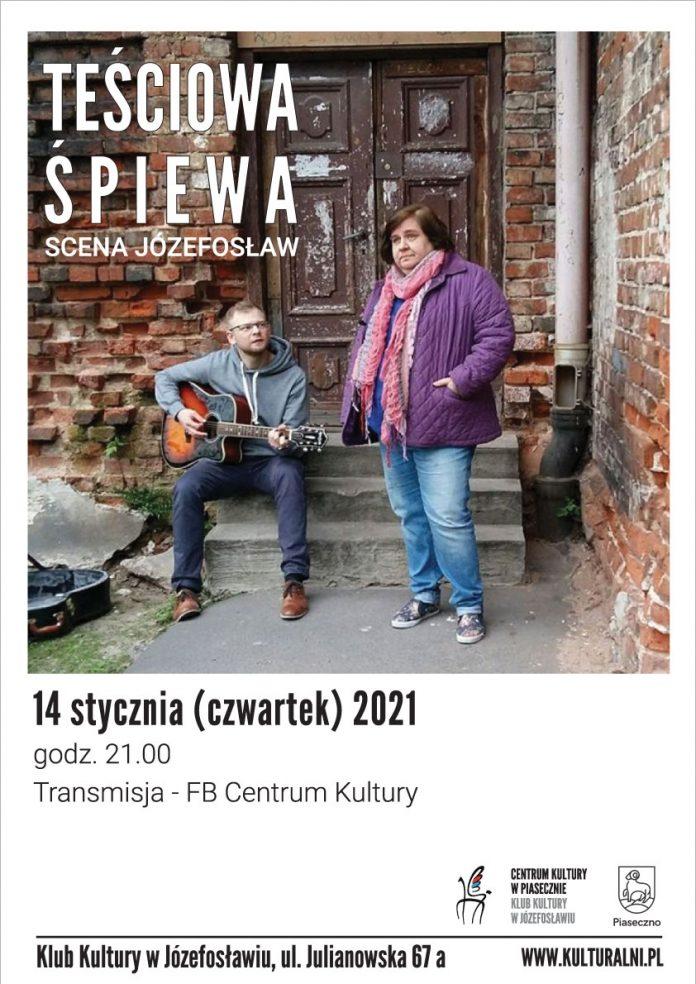 Plakat wydarzenia Teściowa śpiewa - Scena Józefosław