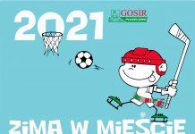 Ilustracja. Sportowa Zima w Mieście 2021r.