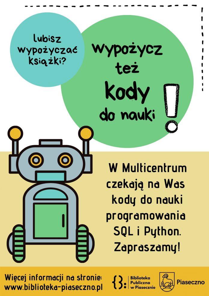 Nauka kodowania w Multicentrum - plakat