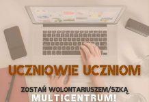 Zostań wolontariuszem/wolontariuszką Multicentrum