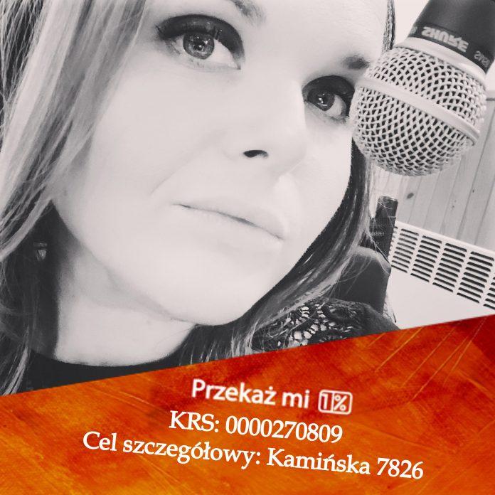 Ilustracja. Magda Kamińska przeznacza środki z 1% na rehabilitację
