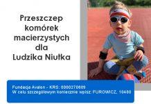 Franciszek Furowicz prosi o 1% na przeszczep komórek macierzystych