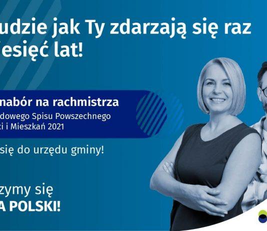 Ilustracja. Nabór kandydatów na rachmistrzów spisowych w gminie Piaseczno 2021