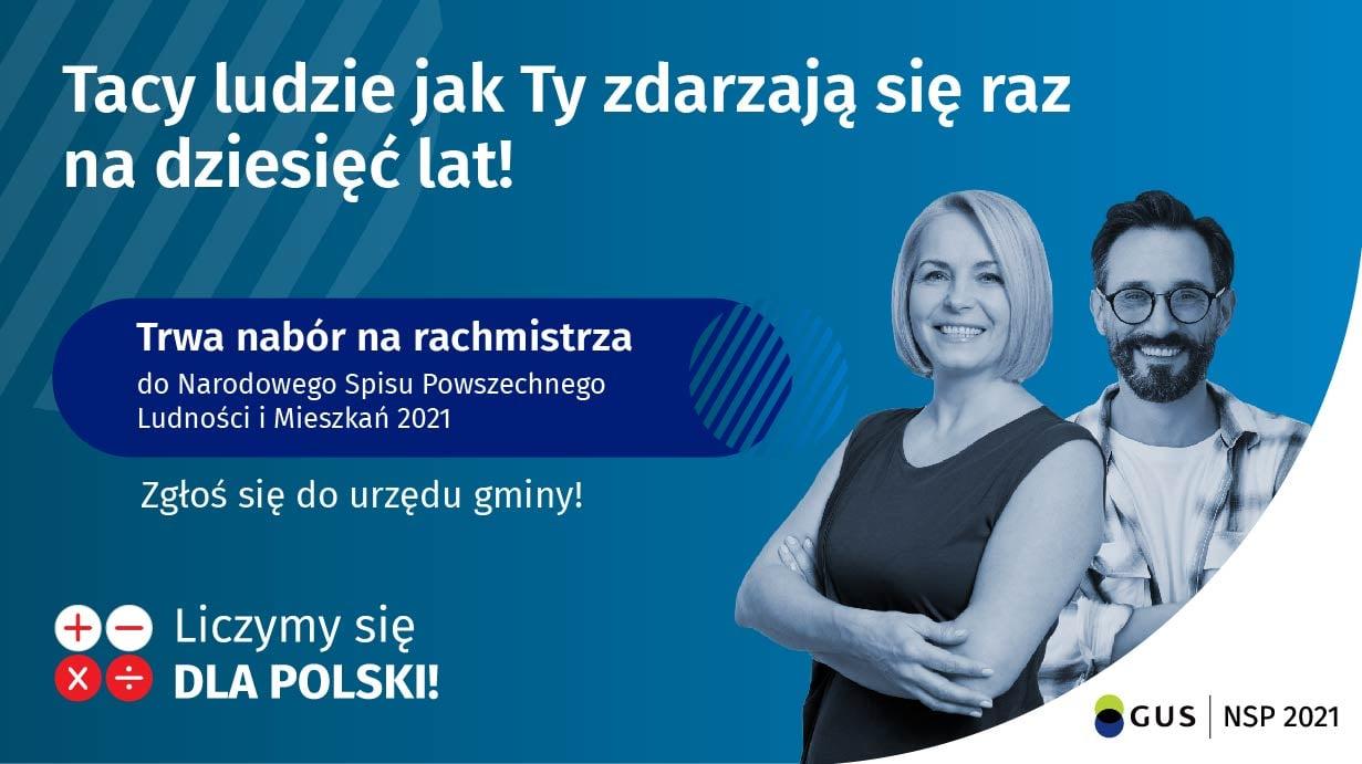 Nabór uzupełniający kandydatów na rachmistrzów spisowych NSP 2021 |  Oficjalna strona Miasta i Gminy Piaseczno