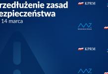 Rząd przedłuża zasady bezpieczeństwa do 14 marca i wprowadzamy nowe w woj. warmińsko-mazurskim