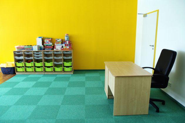 Rozbudowana Szkoła Podstawowa w Głoskowie - pomieszczenie przedszkola przy szkole