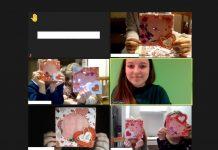 Walentynkowe kartki – shaker card