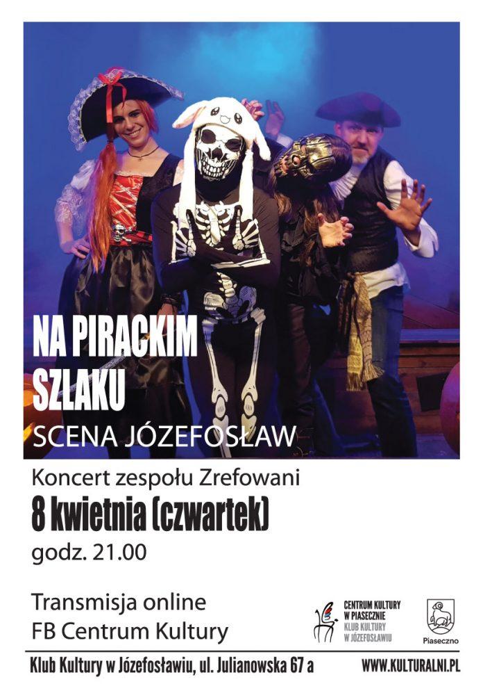Koncert szantowy NA PIRACKIM SZLAKU-plakat