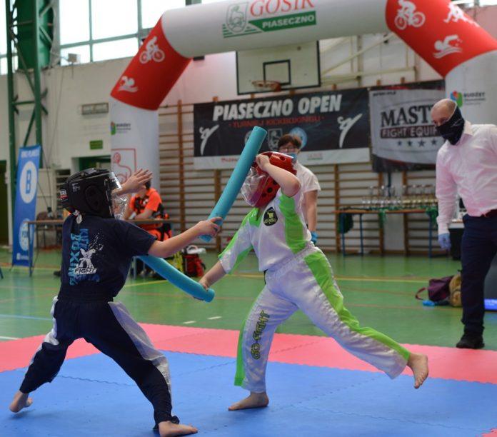 """Ilustracja. Turniej Kickboxingu """"Piaseczno Open"""