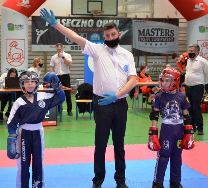 Ilustracja. Turniej Kickboxingu Piaseczno Open