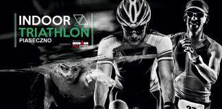 Plakat wydarzenia INDOOR TRIATHLON PIASECZNO 2021