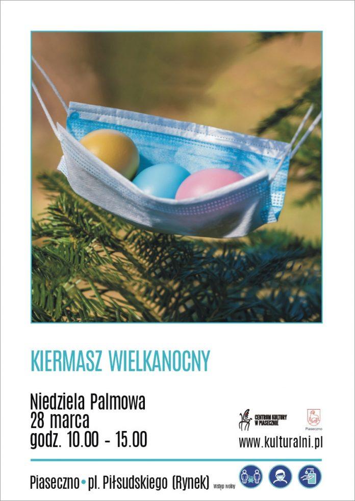 Plakat wydarzenia Kiermasz Wielkanocny w Piasecznie 2021