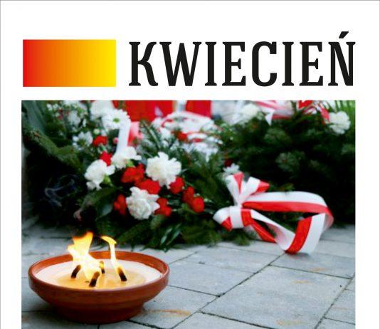 Plakat wydarzeń Kwiecień Miesiąc Pamięci Narodowej Piaseczno 2021