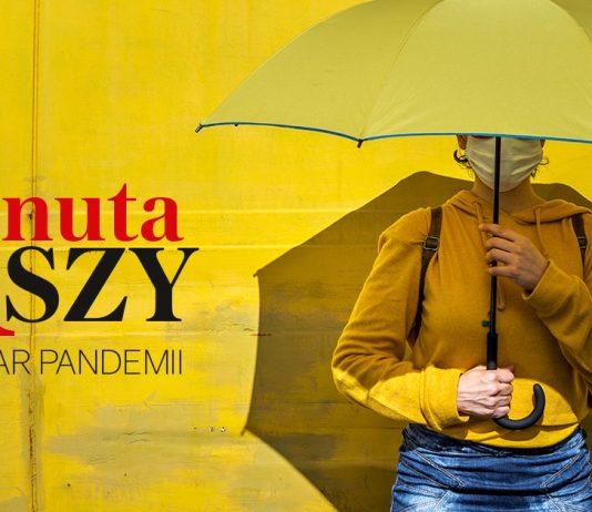 Minuta ciszy dla ofiar pandemii, foto: Gazeta Wyborcza