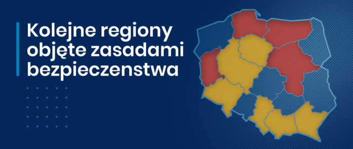 Od 15 marca Mazowsze dołączy do regionów z zaostrzonymi zasadami bezpieczeństwa