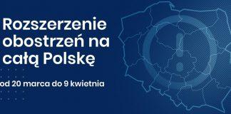 Ilustracja. Od 20 marca 2021 w całej Polsce obowiązują rozszerzone zasady bezpieczeństwa