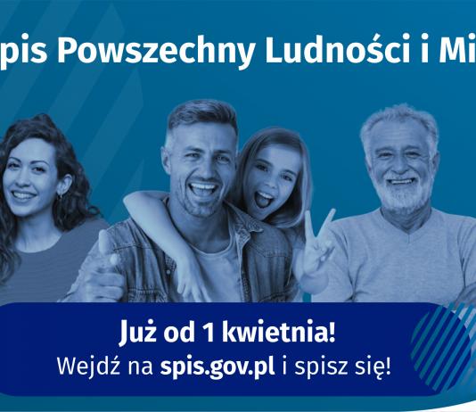 Spisz się, bo liczysz się dla Polski - Narodowy Spis Powszechny Ludności i Mieszkań 2021