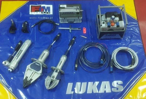 Ilustracja. Zestaw narzędzi hydraulicznych