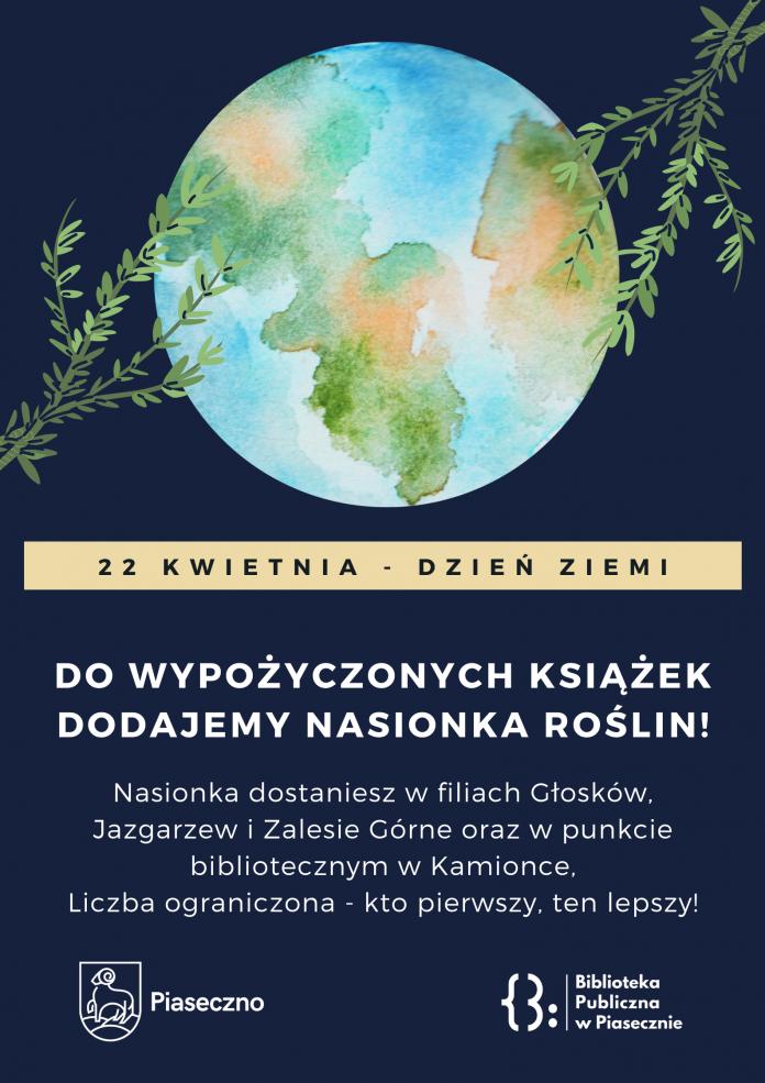 22 kwietnia Dzień Ziemi w Bibliotece
