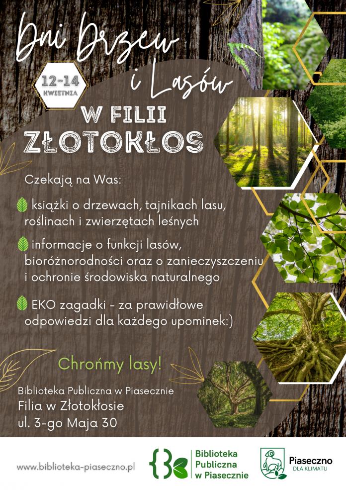 Dni drzew i lasu w filii biblioteki w Złotokłosie