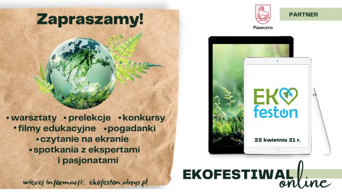 Ekofeston - Ekologiczny Festiwal Online 22 kwietnia 2021 r.