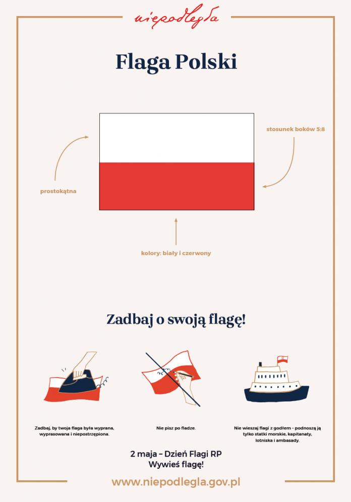 Flaga Polski - jak o nią dbać