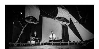 Koncert piosenek żeglarskich - plakat