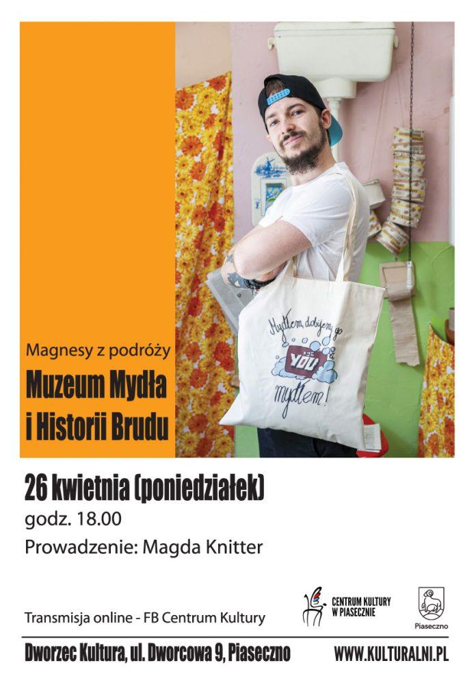Magnesy z podróży - Muzeum Mydła i Historii Brudu
