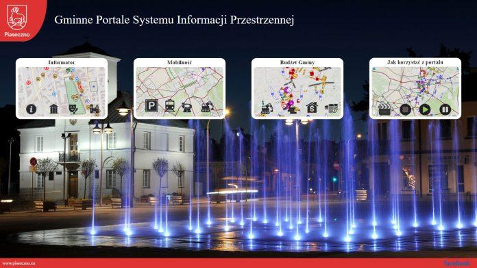 Ilustracja. Gminne Portale Systemu Informacji Przestrzennej
