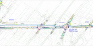 Ilustracja Koncepcja dla głównej arterii w kierunku Zalesia Dolnego