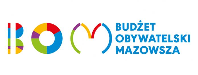 ilustracja. logo BOM